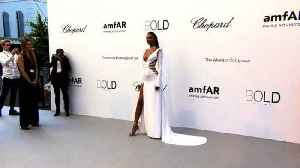 News video: The 25th amfAR Gala in Cannes with red carpet, fashion show and gala.