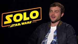 News video: 'Solo: A Star Wars Story' Actors Address Fans