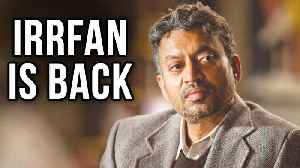 News video: Irrfan Khan Returns To Twitter For 'Karwaan' While Cancer Treatment Is On | Dulquer Salmaan Mithila