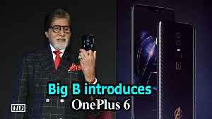 "News video: Megastar Big B introduces ""OnePlus 6"""