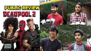 News video: Deadpool 2 Review | Has Reynolds wit hit the right notes again