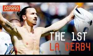 News video: Zlatan Smashes First LA Derby | LA Galaxy vs LAFC