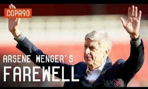 News video: Arsene Wenger's Emotional Farewell to Arsenal