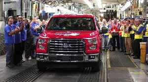 News video: Ford Is Restarting Production Of F-150 Trucks