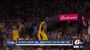 Pacers' Victor Oladipo to drive Pace Car at Indianapolis 500 [Video]