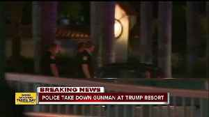 News video: Shots fired at Trump golf club, suspect arrested