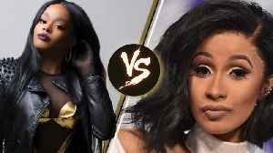 News video: Cardi B DELETES Instagram After BATTLE With Azealia Banks!