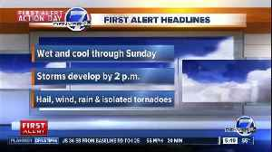 News video: Friday morning forecast: First Alert Action Day
