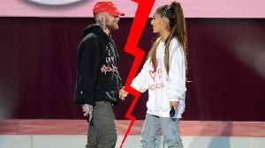 News video: Ariana Grande & Mac Miller BREAK UP!