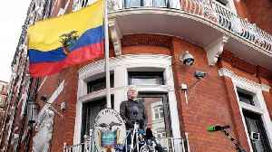 News video: Ecuador Removes Extra Security At Embassy Where Julian Assange Lives