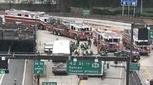 News video: Dozens Injured in Two-Bus Collision in New York's Lincoln Tunnel