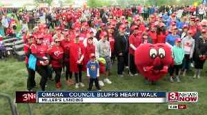 News video: Heart Walk: Remembering loved ones, focus on health