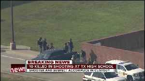 News video: 10 dead, 10 wounded in shooting at Santa Fe High School in Texas, explosives found on campus