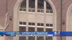 News video: DU Reaches Settlement In Equal Pay Lawsuit