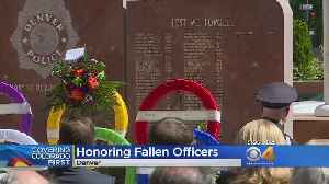 News video: Denver Police Department Honors Fallen Officers