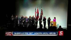News video: Nashville Fire Department Honors Heroes