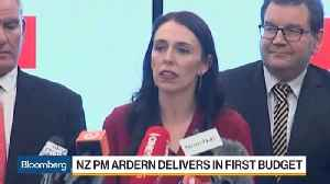 News video: NZ PM Ardern Boosts Health, Education, Housing Spending