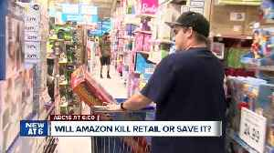 News video: Will Amazon help or kill retail stores?