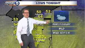 News video: Thursday weather