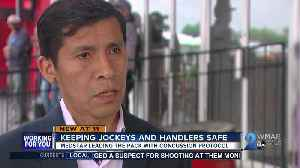 News video: MedStar Health offering leg up for jockey health with innovative concussion protocol