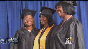 News video: Mother, 2 Daughters Graduate From College At Same Time