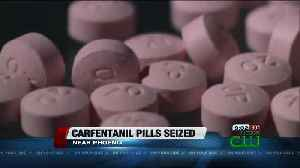 News video: Counterfeit pills with carfentanil seized in the Phoenix area