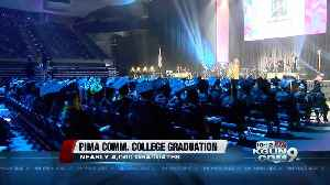 News video: Thousands of students graduate from PCC, including 18 international students