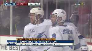 News video: Andrei Vasilevskiy helps Tampa Bay Lightning top Washington Capitals 4-2 to even East Finals 2-all
