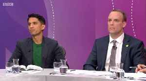 News video: BBC Question Time - Man Mocked For Shopping At Waitrose