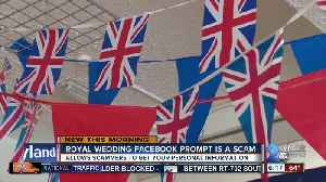 News video: Royal wedding Facebook quiz could put you at risk