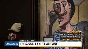 News video: Picasso Work Damaged Before Auction