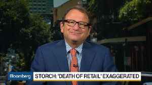 News video: Gerald Storch Says the Death of Retail Has Been Grossly Exaggerated