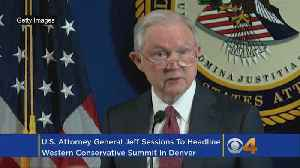 News video: Jeff Sessions To Speak In Denver At Western Conservative Summit
