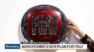 News video: Fiat CEO Thinks Big in New Manufacturing Plan for Italy