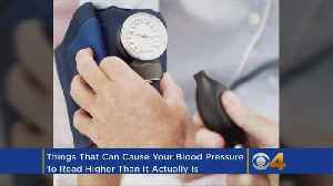 News video: 7 Common Mistakes That Can Make Your Blood Pressure Reading Way Off