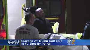 News video: Gunman At Trump Golf Club In Florida Shot By Police