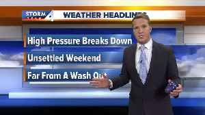 News video: Another round of rain on the way