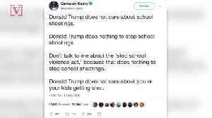 News video: Parkland School Shooting Survivors React to Trump's Tweet About the Texas School Shooting