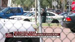 News video: Tampa Bay area districts making changes after Texas school shooting
