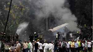 News video: Plane Crashed After Take-Off In Cuba, Many Casualties