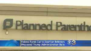 News video: Trump Setting Off New Legal Battle Over Abortion