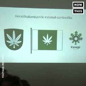 News video: This Town Is Putting A Weed Leaf On Its Flag