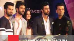 News video: Karan To Turn Host For IIFA