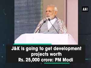 News video: J&K is going to get development projects worth Rs. 25,000 crore: PM Modi