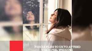 News video: Peecee Flies To UK To Attend The Royal Wedding