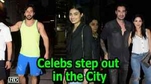 News video: Sunny Leone, Varun Dhawan, Athiya Shetty step out in the City