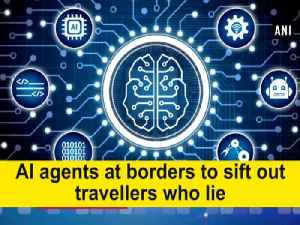 News video: AI agents at borders to sift out travellers who lie