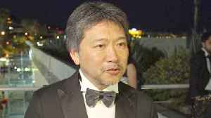 News video: Palme d'Or winner Kore-eda says he knew film was special