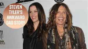 News video: Steven Tyler once hit on his daughter Liv's best friend