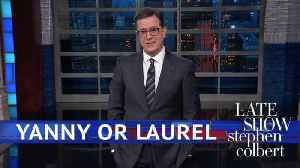 News video: Trump's Cabinet Is Divided On 'Yanny Or Laurel'